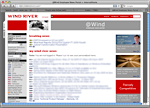 Sample TWiki skin: TWiki Intranet at Wind River in California