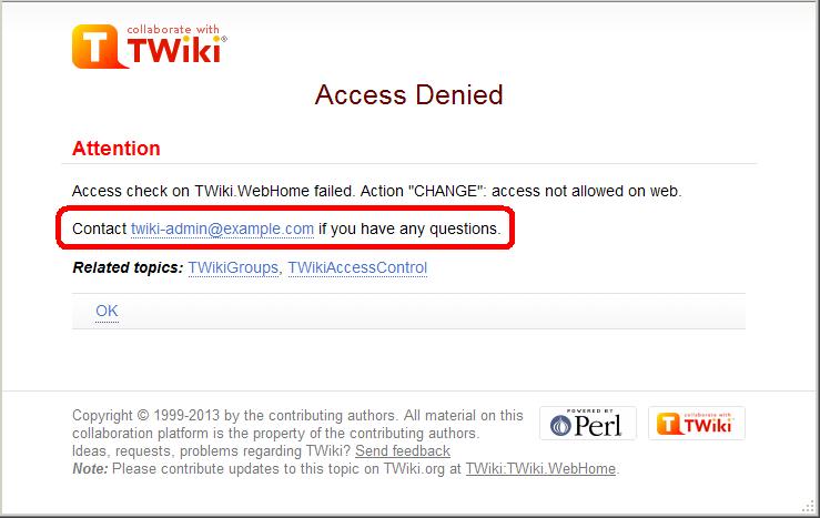 TWikiDocumentation < TWiki < TWiki